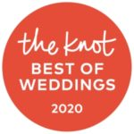 2020 Best of Weddings Award from The Knot
