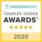 2020 Couple's Choice Award from WeddingWire